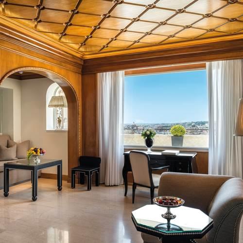 Best Penthouse Suites in Rome | Villa Medici