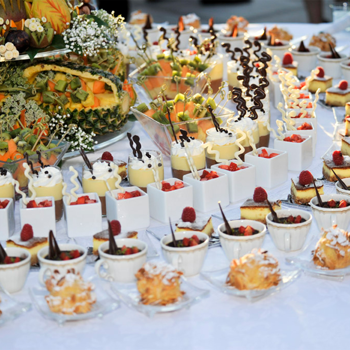 Hassler Reception Buffet