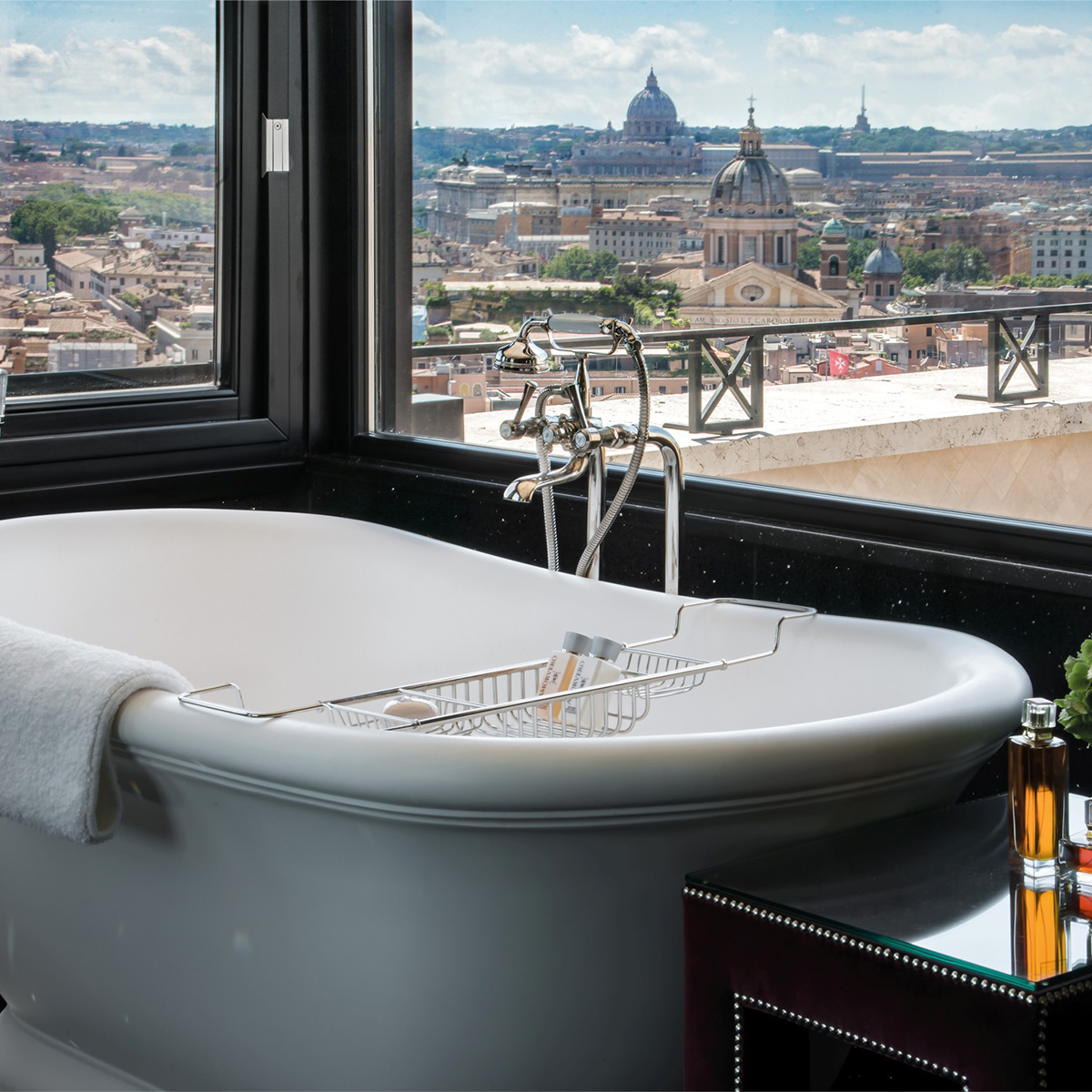 Hassler Penthouse Bathroom