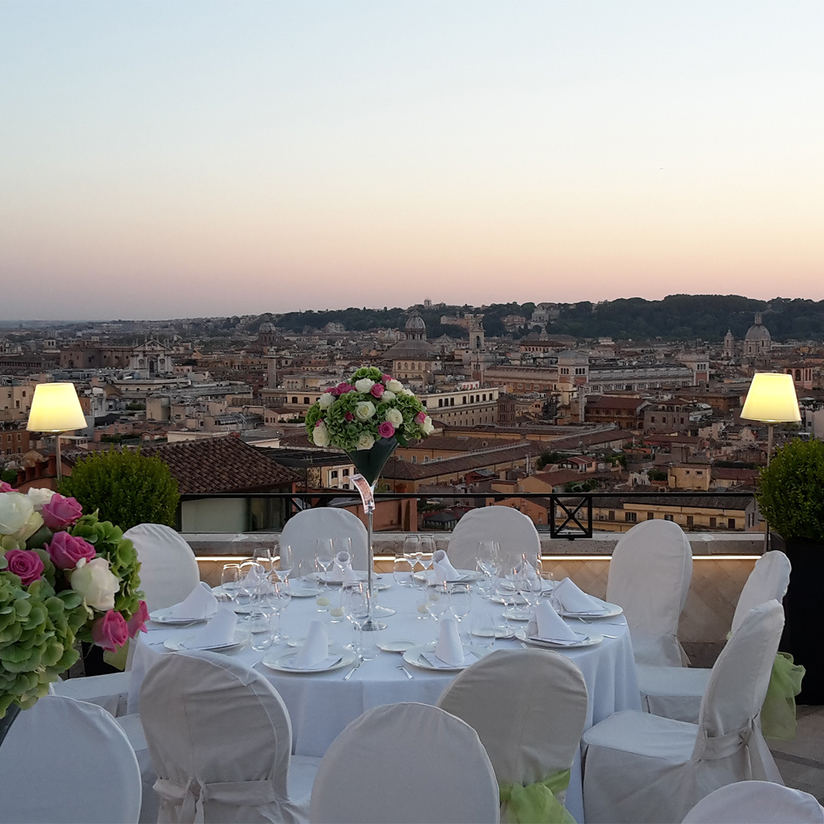 Wedding Pictures   Hassler Roma