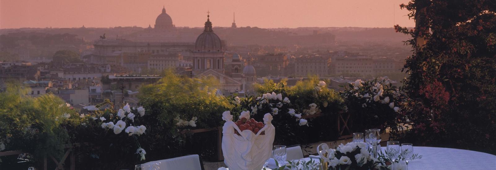 Hassler hotel rome wedding
